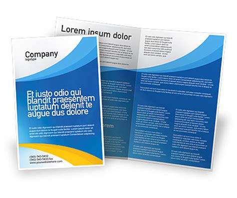 Course Brochure Template by Obstacle Course Brochure Template Design And Layout