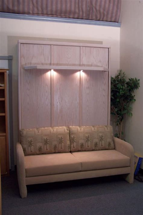 bed sofa ideas murphy bed ideas with rustic cabinet