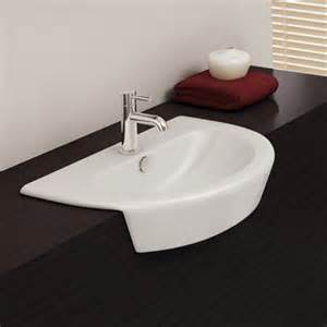 recessed sinks bathroom semi recessed bathroom sinks