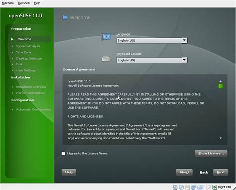 keyboard layout opensuse archive dvd installation for 11 0 opensuse