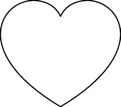 heart template coloring page free printable star shapes heart coloring pages