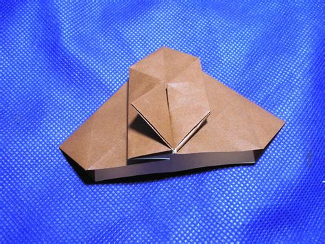 Paper Folding Sound Effect - single sheet origami stellated octahedron