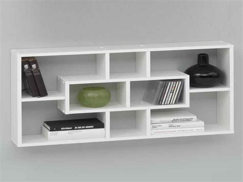 Cabinet Shelving Wall Mounted Bookcase Design White Wall Mounted Bookcase White