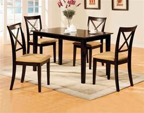 Dining Table And Bench Seats Melbourne Melbourne I Contemporary Espresso Casual Dining Set With