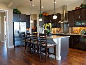 kitchen island breakfast bar pictures ideas from hgtv kitchen ideas design with cabinets