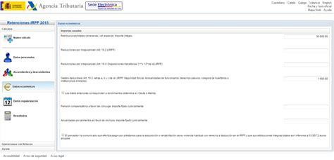 retenciones irpf 2015 y 2016 agencia tributaria ejemplo pr 225 ctico sobre las retenciones de irpf en 2016