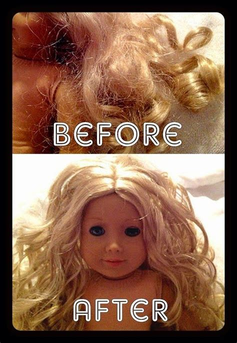 8 Emergency Hair Fixers by 1000 Ideas About Doll Hair Fix On Doll Hair