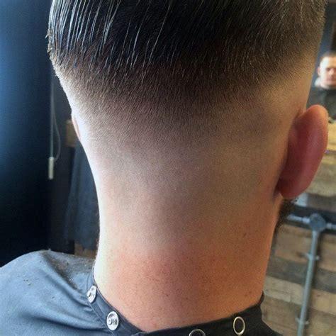 mens basin haircut shaved nape bald fade bald fade haircuts and mens hair