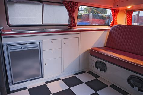 volkswagen old van interior t2 with retro units dubteriors quality vw cer interiors