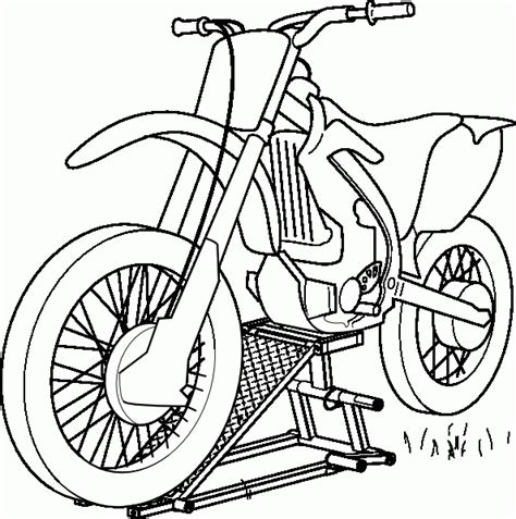 Motorcycle Coloring Pages Coloringpagesabc Com Motocross Coloring Pages