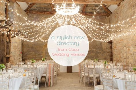 Wedding Directory by A Stylish New Wedding Directory From Coco Wedding Venues