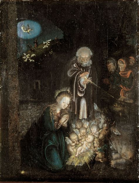 by the light of the moon wikidata adoration of the shepherds lucas cranach the elder
