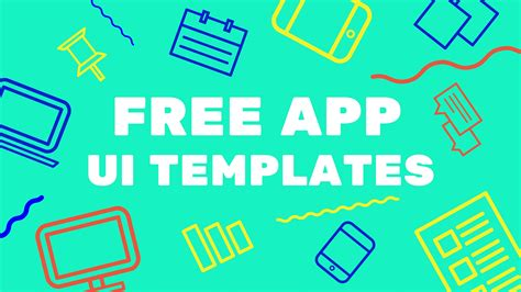 free app template free app ui templates for the mobile designer spyrestudios
