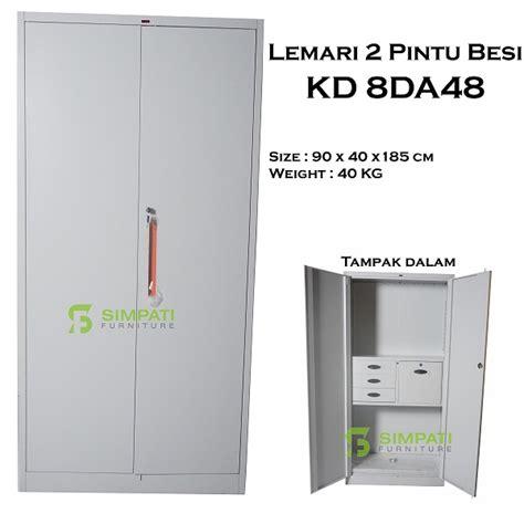 Dijamin Lemari Besi 2 Pintu Kozure Filling Cupboard Kf 03s filling cabinet lemari arsip lemari besi toko furniture simpati