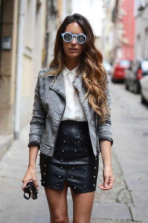 Leather Styles by 10 Ways To Wear A Leather Skirt 2019 Become Chic