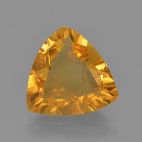 Citrine 2 7ct gold citrine 2 7ct trillion from brazil and