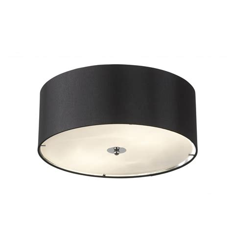 franco 40bl black ceiling light endon 2 light franco