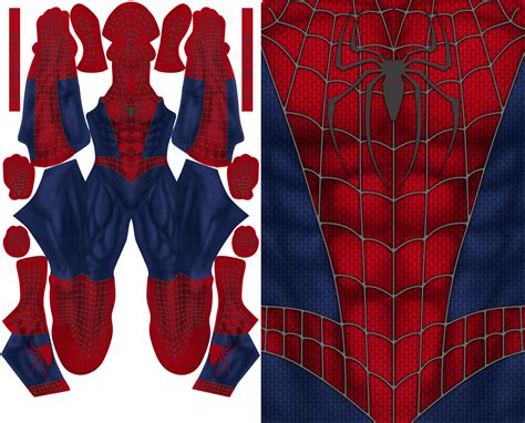 spiderman suit pattern free spiderman raimi pattern file