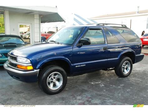 2001 chevrolet blazer ls in indigo blue metallic 194154