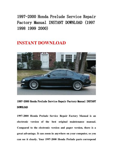 car engine manuals 1997 honda prelude regenerative braking 2000 honda prelude engine repair manual 2000 honda prelude overview cargurus sell used 2000