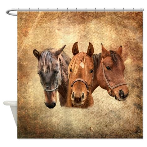 horse bathroom horse shower curtain by horsecompany