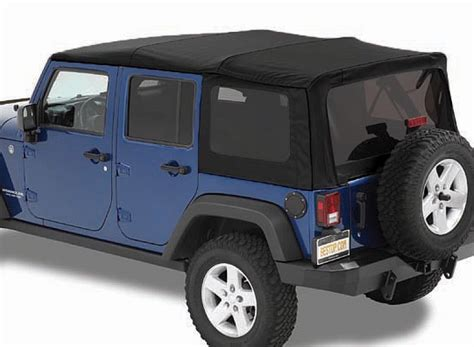 Jeep Wrangler Soft Top Windows Bestop 54823 17 Bestop 174 Supertop 174 Nx Twill Soft Top With