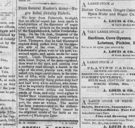 records from missouri newspapers 1861 1865 the civil war years books quot black in the confederate army quot what the newspapers