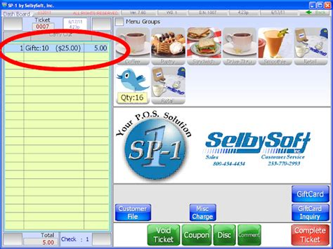 Look Up Gift Card Balance - gift cards sp 1 by selbysoft pos system part 2