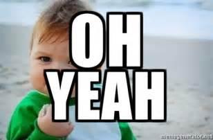 Yes Baby Meme - oh yeah fist pump baby meme generator