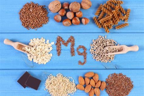 alimenti con magnesio magnesio perch 233 232 importante in estate e quali alimenti