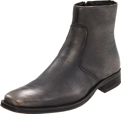 kenneth cole new york mens clean cut boot in black for