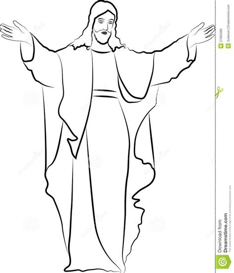 template of jesus sketches of jesus coloring pages