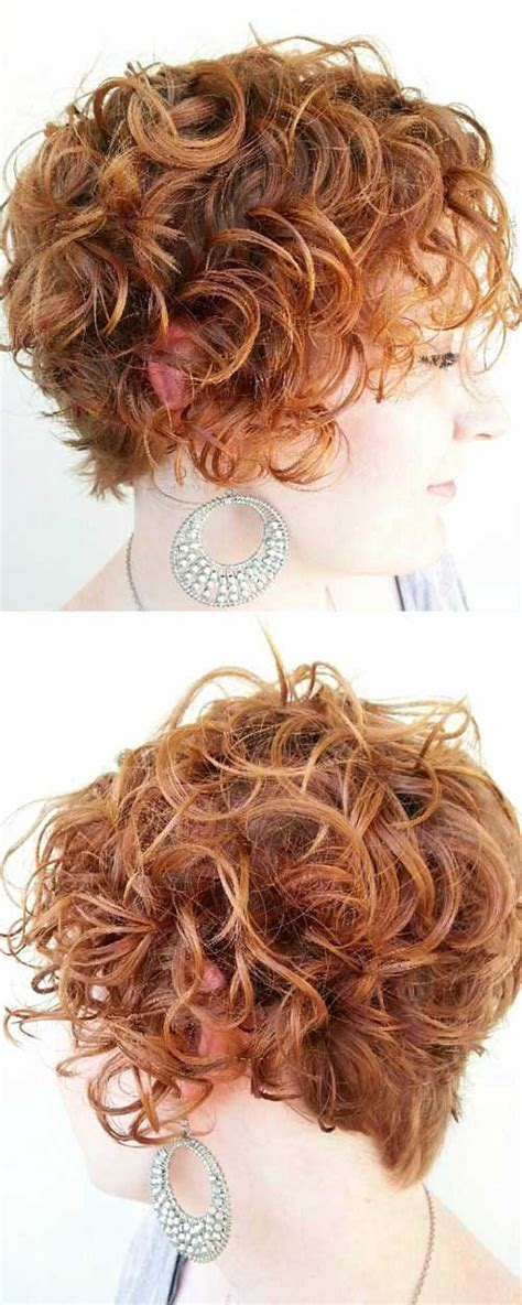 nice short haircuts for curly hair brilliant ideas about short curly hair for 2017 the best