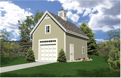 One Car Garage With Loft by Oakville Expandable One Car Garage Plans