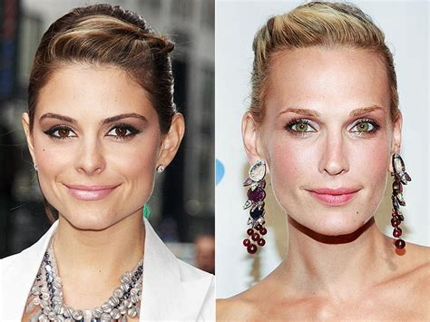 These Trends Twisted My by Twisted Updos Photo Menounos Molly Sims