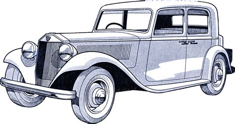 vintage cars drawings free illustration car vintage drawing antique