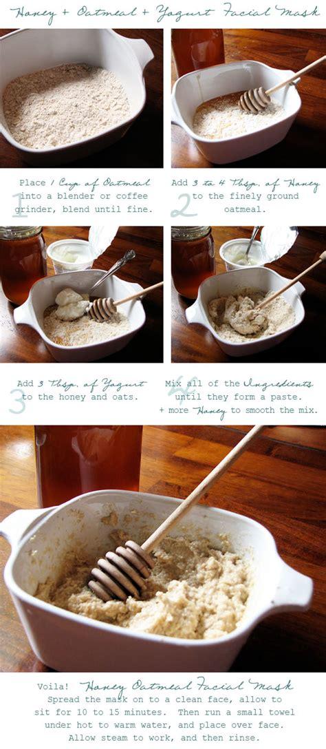 oatmeal mask diy of giving diy honey oatmeal mask