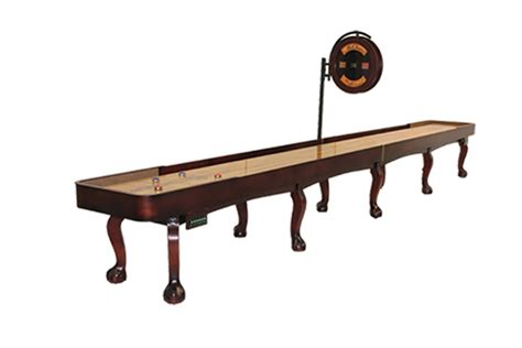 Mcclure Tables by 22 Foot Edmore Shuffleboard Table Mcclure Tables