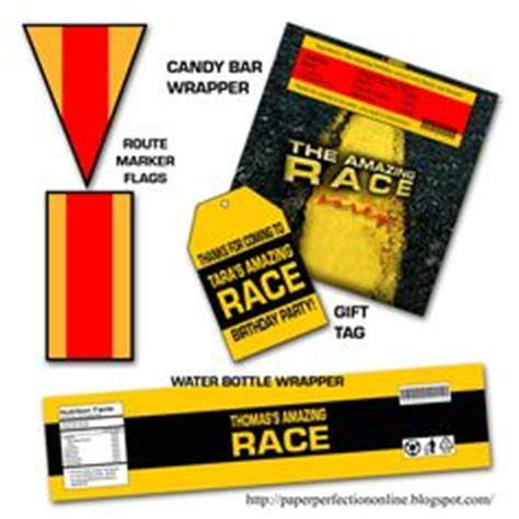 amazing race route info template free templates here for detour route info and road block