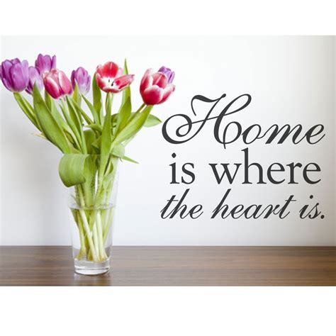 home is where the heart is home is where your heart is quotes quotesgram