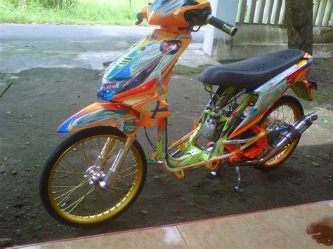 Motor Modif Skotlet Orange by Modifikasi Motor Beat Pop 2017 Automotivegarage Org
