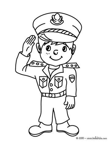 policeman carnival costume coloring pages hellokids com
