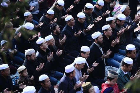 muslims celebrate festival of eid al adha china org cn