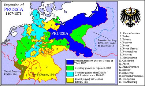map   expansion  prussia    core