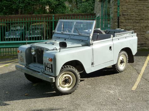 1960 series ii land rover sold to gerald in