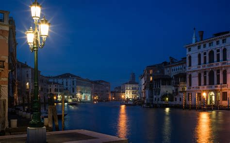 venice canals lights wallpaper venice italy canal lights cities
