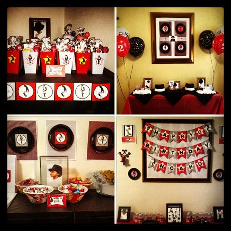 michael jackson themed birthday party 17 best images about michael jackson theme party on