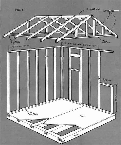 storage building blueprints  simple guide