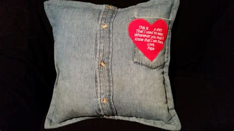 bereavement pillow bereavement gift shirt pillow memorial