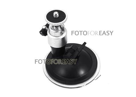 Reflector Holder With Ballhead suction cup ballhead mount tripod holder for car window